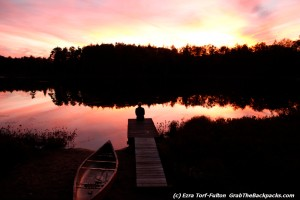 Sunset at Twin Pond