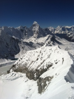 View from Island Peak, Everest Region