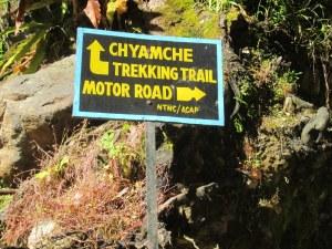 Trail Split after Jagat