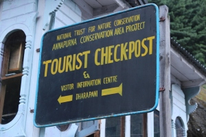 Checkpoint in Daraphani