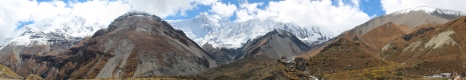 Leaving Manang and heading towards Tilicho Base Camp