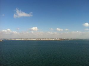 View of the Point Loma Bay & Downtown San Diego